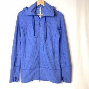 Lululemon Stride Jacket Heathered Lavender Size 8